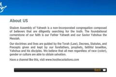 Shalom Assembly of Yahweh